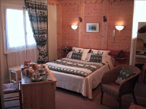 Urlaub in den Bergen Hôtel les Glaciers - Samoëns - Schlafzimmer