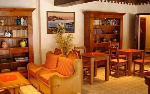 Urlaub in den Bergen Hôtel les Glaciers - Samoëns - Wohnzimmer
