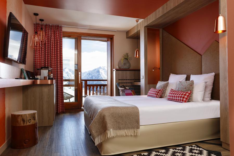 Vakantie in de bergen Hôtel les Grandes Rousses - Alpe d'Huez - 2 persoons bed