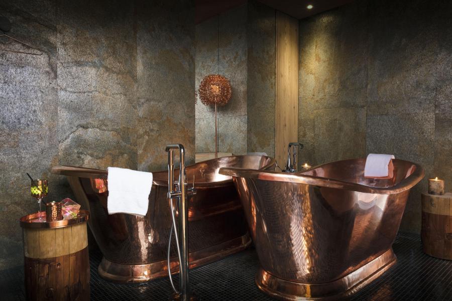 Vakantie in de bergen Hôtel les Grandes Rousses - Alpe d'Huez - Badkamer