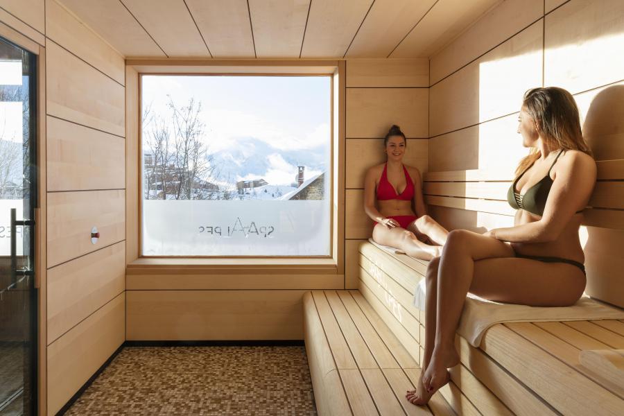 Vakantie in de bergen Hôtel les Grandes Rousses - Alpe d'Huez - Sauna