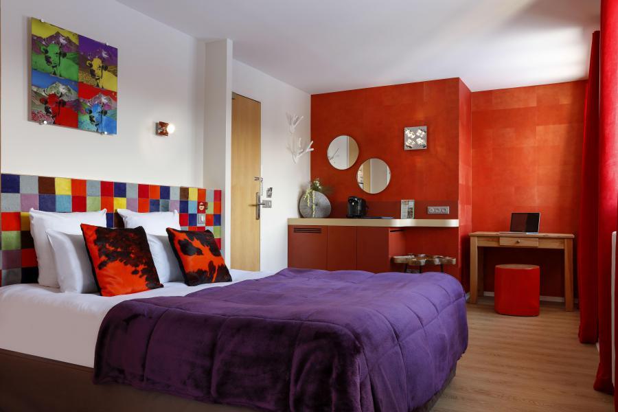 Vakantie in de bergen Hôtel les Grandes Rousses - Alpe d'Huez - Twin bedden