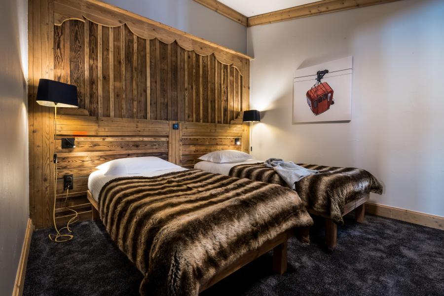 Urlaub in den Bergen Hôtel les Suites du Montana - Tignes - Schlafzimmer