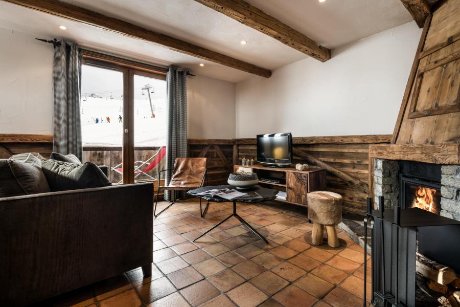 Urlaub in den Bergen Hôtel les Suites du Montana - Tignes - Wohnzimmer