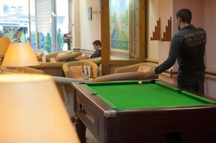 Urlaub in den Bergen Hôtel les Vallées - La Bresse - Billard