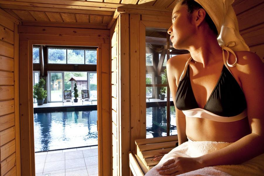 Holiday in mountain resort Hôtel les Vallées - La Bresse - Sauna