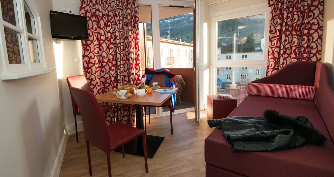 Urlaub in den Bergen Hôtel les Vallées - La Bresse - Schlafzimmer