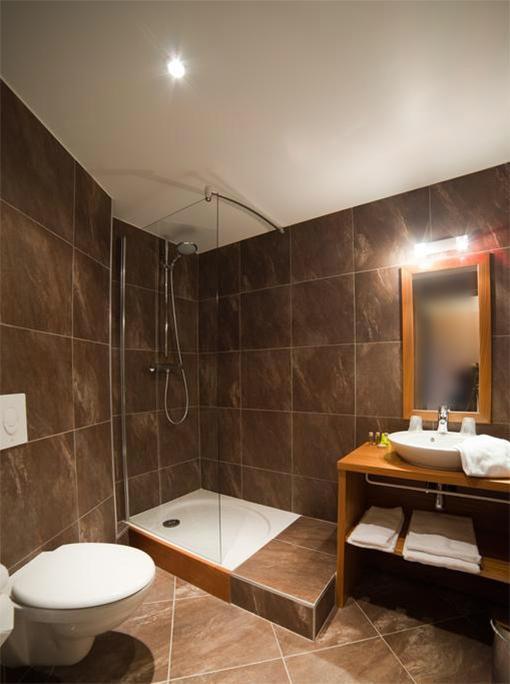 Holiday in mountain resort Hôtel les Vallées - La Bresse - Shower room