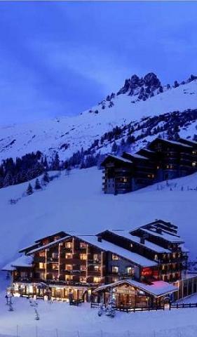 Holiday in mountain resort Hôtel Mont Vallon - Méribel-Mottaret - Plan