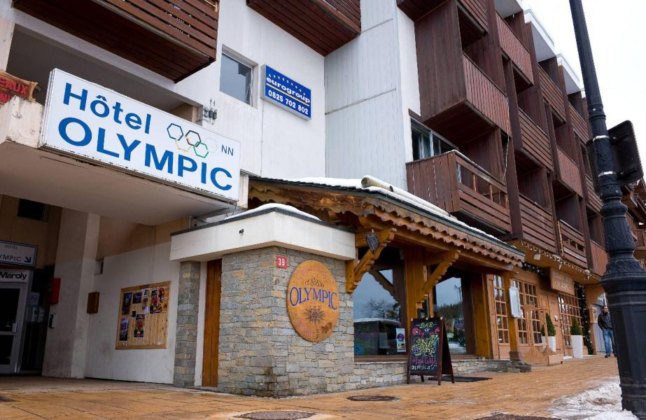 Rent in ski resort Hôtel Olympic - Courchevel - Summer outside