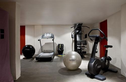 Vacances en montagne Hôtel Ormelune - Val d'Isère - Espace fitness