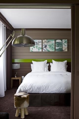 Vacances en montagne Hôtel Ormelune - Val d'Isère - Lit double