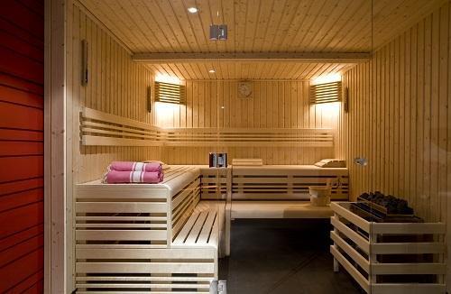 Vacances en montagne Hôtel Ormelune - Val d'Isère - Sauna