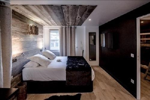 Vacaciones en montaña Habitación Triple Zen (3 personas) - Hôtel Rock Noir - Serre Chevalier - Habitación