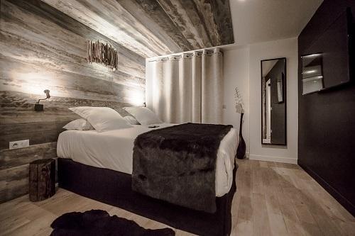 Vacaciones en montaña Habitación Zen (2 personas) - Hôtel Rock Noir - Serre Chevalier - Habitación