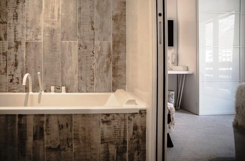 Urlaub in den Bergen Pure Suite (4 personen) - Hôtel Rock Noir - Serre Chevalier - Schlafzimmer