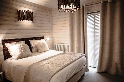 Urlaub in den Bergen Rein Zimmer (2 personen) - Hôtel Rock Noir - Serre Chevalier - Schlafzimmer