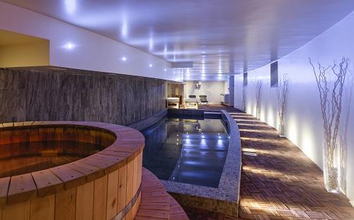 Urlaub in den Bergen Hôtel Rock Noir - Serre Chevalier - Whirlpool