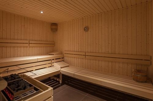 Urlaub in den Bergen Hôtel Royal Ours Blanc - Alpe d'Huez - Sauna