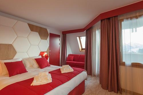 Urlaub in den Bergen Hôtel Royal Ours Blanc - Alpe d'Huez - Schlafzimmer