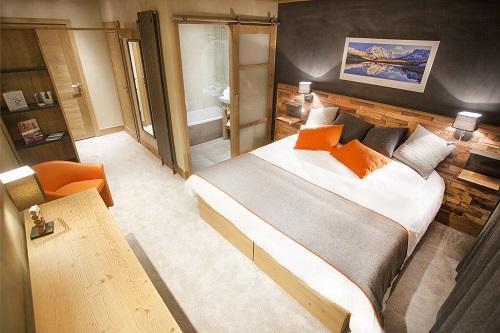 Vakantie in de bergen Hôtel Saint Charles Val Cenis - Val Cenis - Kamer