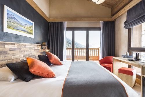 Vakantie in de bergen Hôtel Saint Charles Val Cenis - Val Cenis - Raam