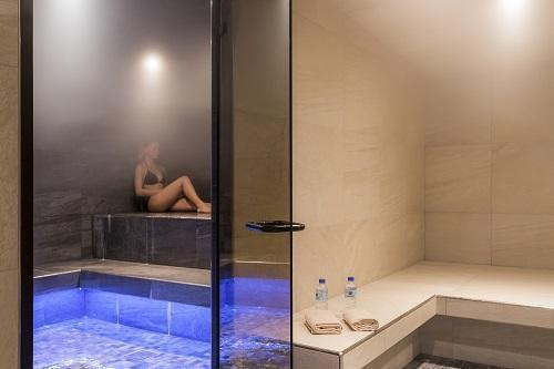 Vakantie in de bergen Hôtel Saint Charles Val Cenis - Val Cenis - Sauna