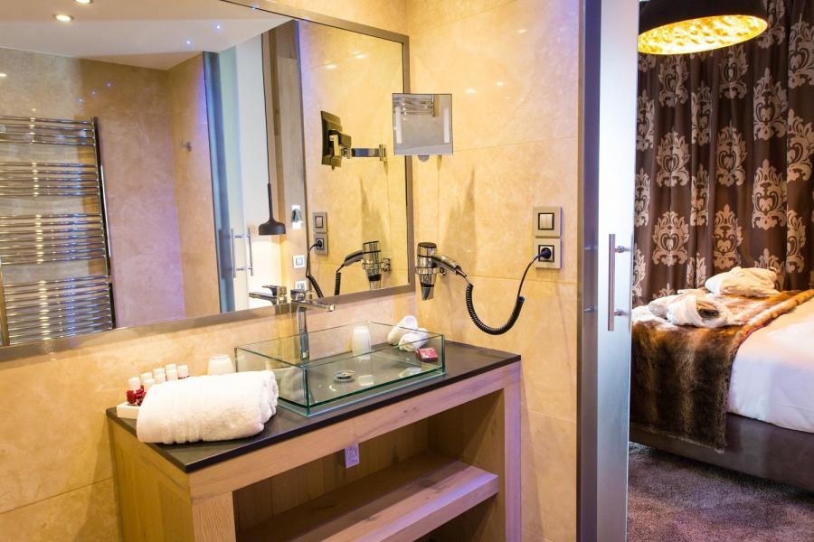 Vacances en montagne Hôtel Taj-I Mah - Les Arcs - Chambre