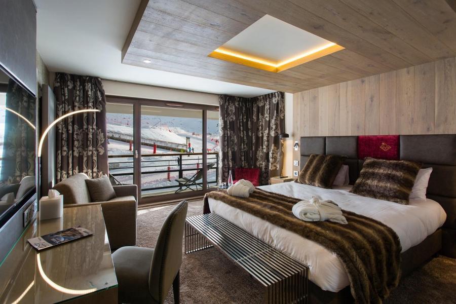 Vacances en montagne Hôtel Taj-I Mah - Les Arcs - Coin nuit
