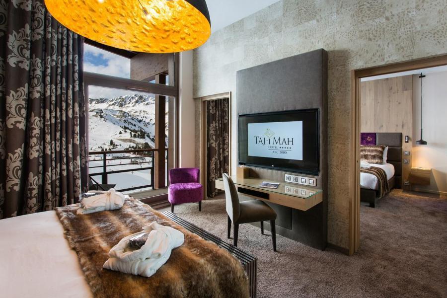 Vacances en montagne Hôtel Taj-I Mah - Les Arcs - Lits twin