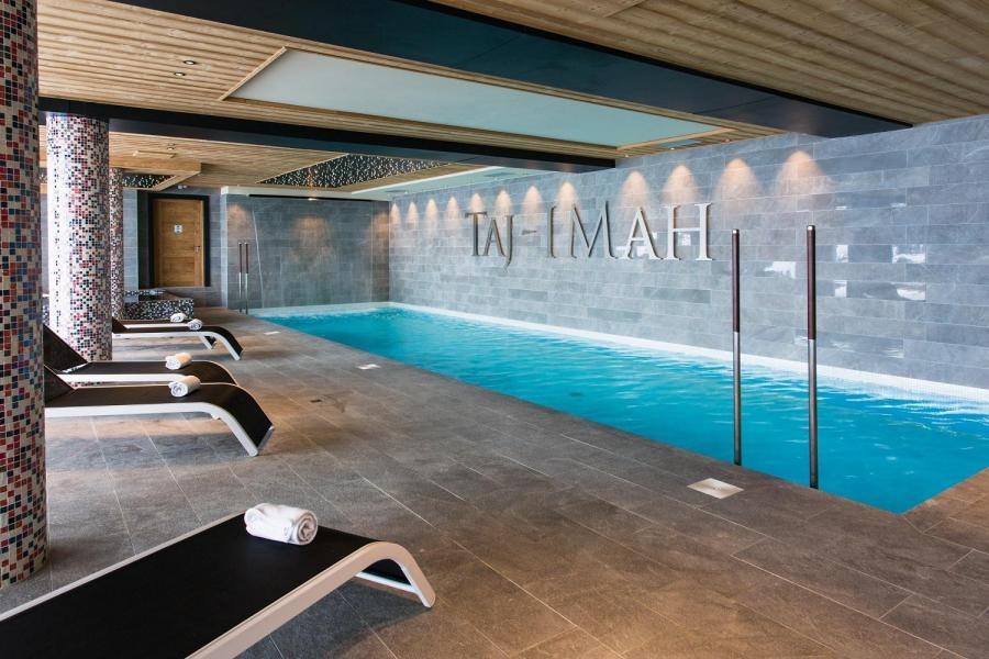Vacances en montagne Hôtel Taj-I Mah - Les Arcs - Piscine