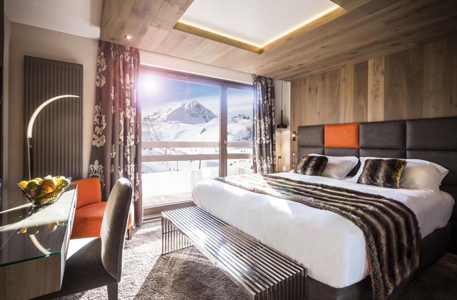 Vakantie in de bergen Hôtel Taj-I Mah - Les Arcs - Raam