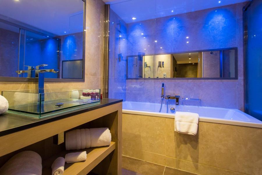 Vacances en montagne Hôtel Taj-I Mah - Les Arcs - Salle de bains