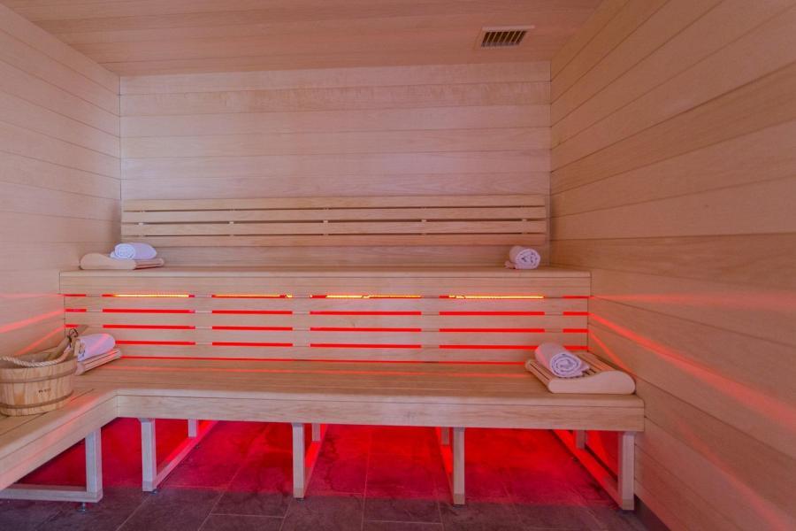 Vacances en montagne Hôtel Taj-I Mah - Les Arcs - Sauna