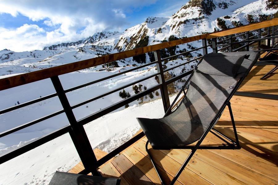 Vacances en montagne Hôtel Taj-I Mah - Les Arcs - Terrasse