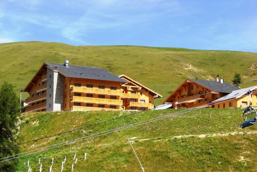 Location au ski Hôtel Vancouver - La Plagne - Extérieur été