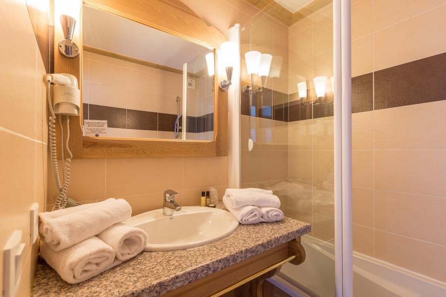 Vacances en montagne Hôtel Vancouver - La Plagne - Salle de bains
