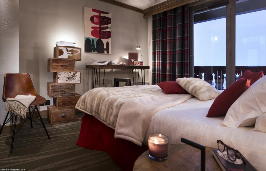 Holiday in mountain resort Hôtel Village Montana - Tignes - Bedroom