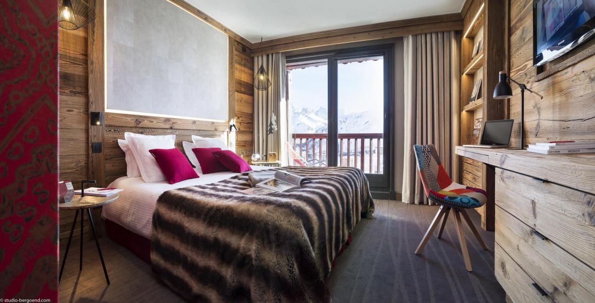 Urlaub in den Bergen Hôtel Village Montana - Tignes - Schlafzimmer