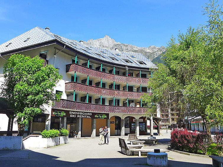 Holiday in mountain resort 1 room apartment 2 people (3) - Iris - Chamonix - Summer outside