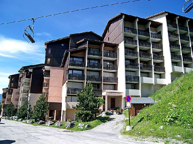 Holiday in mountain resort 2 room apartment 4 people (1) - L'Argousier - Les Menuires - Summer outside