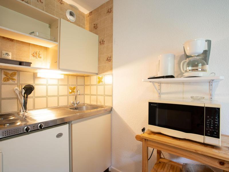 Vakantie in de bergen Appartement 1 kamers 3 personen (8) - L'Argousier - Les Menuires - Verblijf
