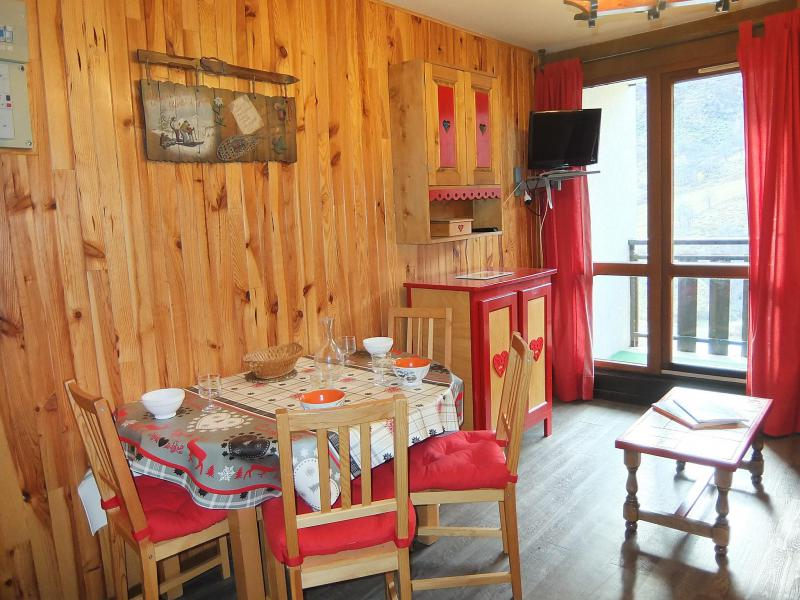 Holiday in mountain resort 2 room apartment 4 people (5) - L'Astragale - Les Menuires - Summer outside