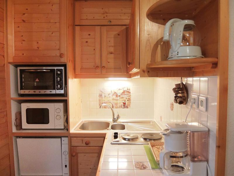 Vakantie in de bergen Appartement 1 kamers 2 personen (10) - L'Astragale - Les Menuires - Verblijf
