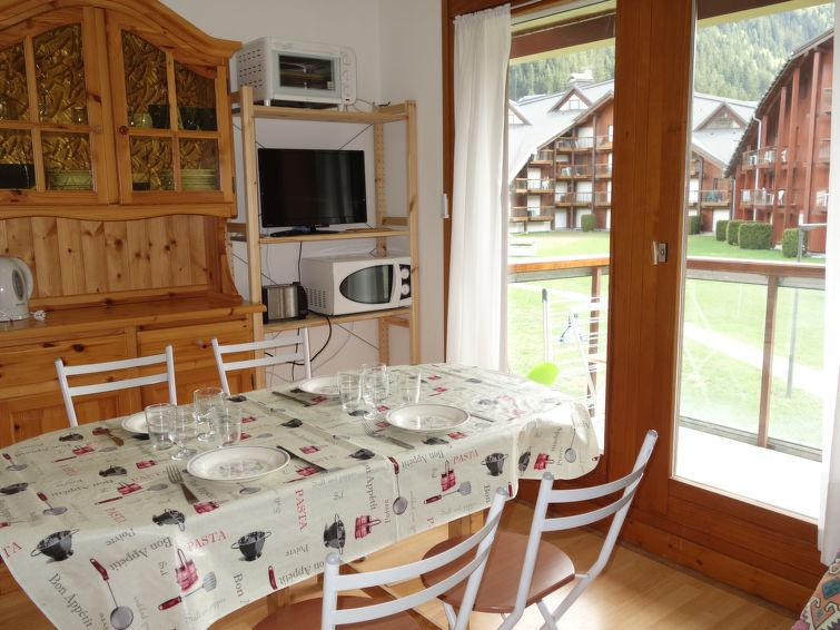 Holiday in mountain resort 1 room apartment 4 people (7) - L'Enclave I et J - Les Contamines-Montjoie - Accommodation