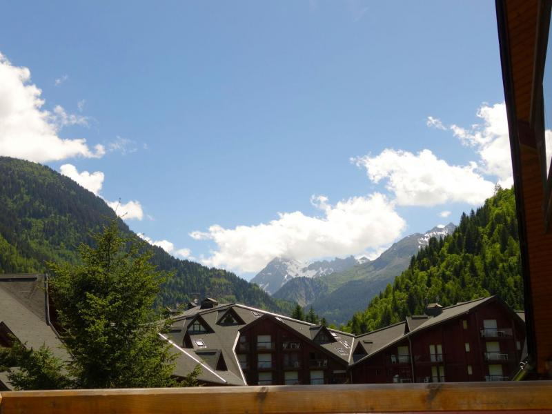 Holiday in mountain resort 1 room apartment 4 people (14) - L'Enclave I et J - Les Contamines-Montjoie - Summer outside