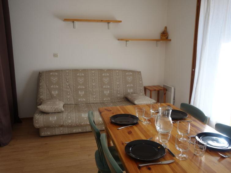Vakantie in de bergen Appartement 1 kamers 4 personen (14) - L'Enclave I et J - Les Contamines-Montjoie - Verblijf