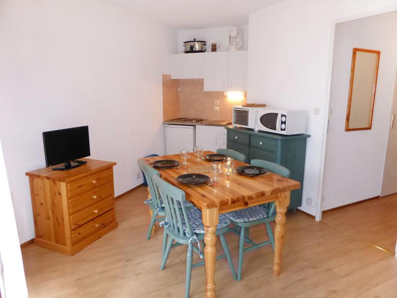 Vakantie in de bergen Appartement 1 kamers 4 personen (14) - L'Enclave I et J - Les Contamines-Montjoie - Tafel