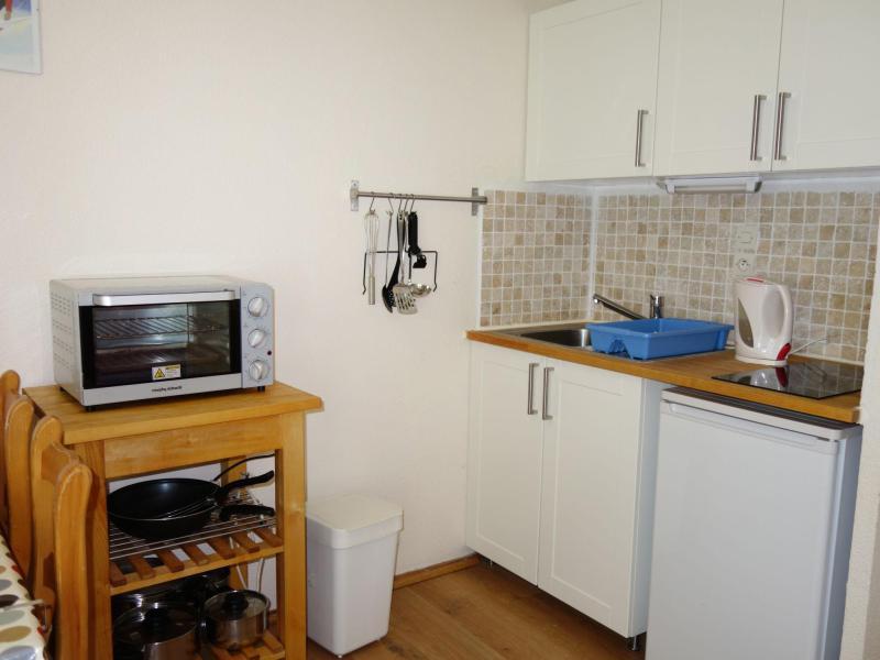 Vakantie in de bergen Appartement 1 kamers 4 personen (28) - L'Enclave I et J - Les Contamines-Montjoie - Verblijf