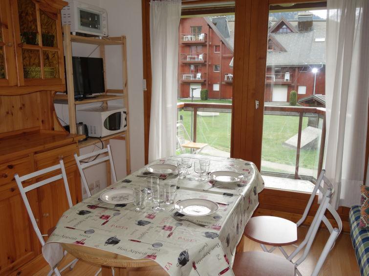 Vakantie in de bergen Appartement 1 kamers 4 personen (7) - L'Enclave I et J - Les Contamines-Montjoie - Verblijf